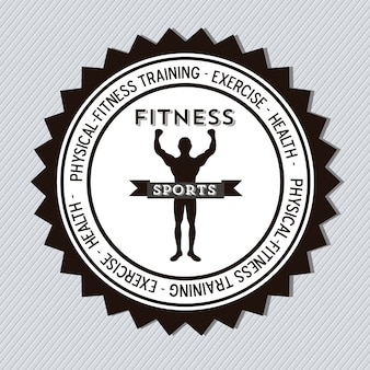 Fitness pictogrammen