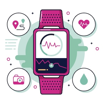 Fitness trackers in plat design