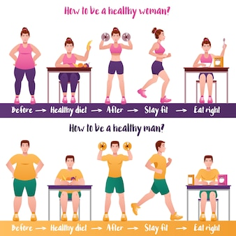 Fitnessbannerset