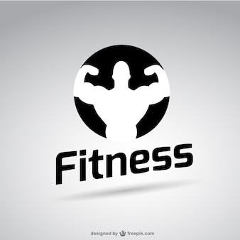 Fitnessclub gratis vector