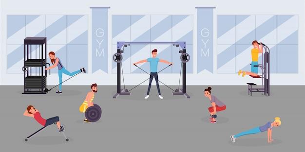 Fitnessruimte training