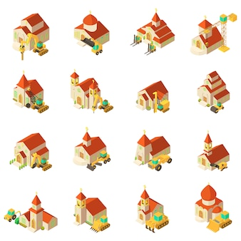 Fix van kerk icon set