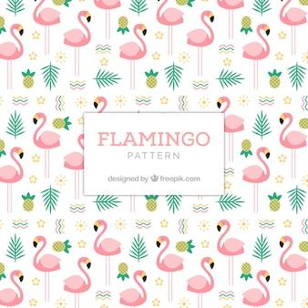 Flamenco zomer patroon