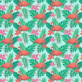 Flamingo patroon pack