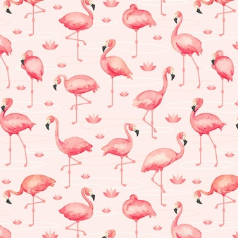 Flamingo patroon pack