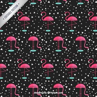 Flamingo patroon
