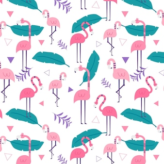Flamingo patroon