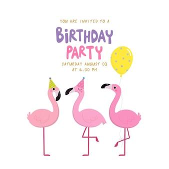 Flamingo verjaardag
