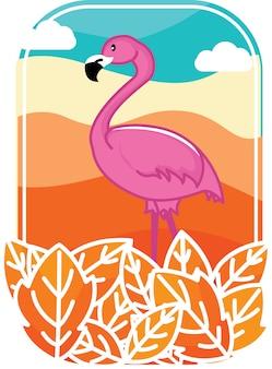 Flamingo woestijn