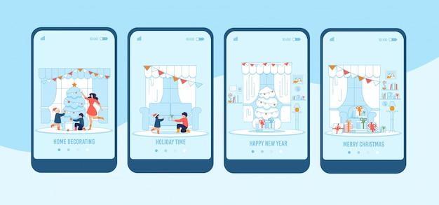 Flar mobiel display voor vakantie-evenement