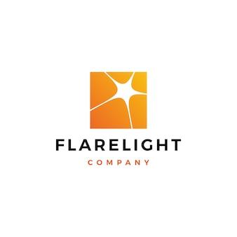 Flare licht logo downloaden