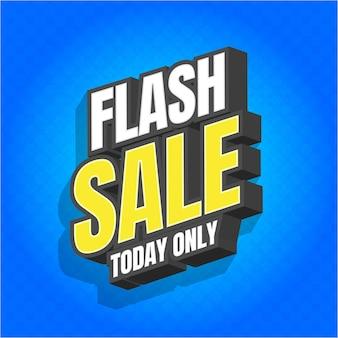 Flash sale alleen vandaag