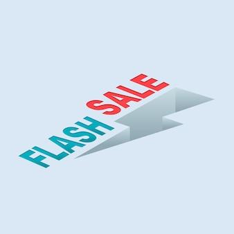 Flash verkoop donder
