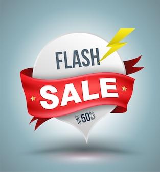 Flash-verkoopbanner