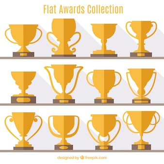 Flat award collection