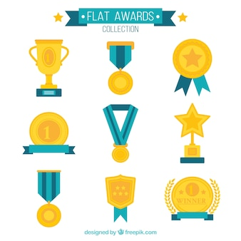 Flat awards collectie