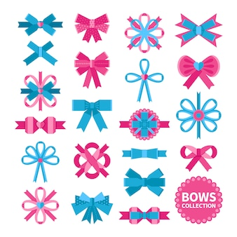 Flat bows-collectie