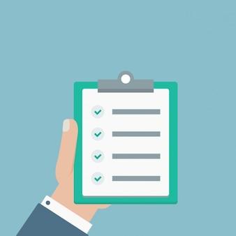 Flat checklist ontwerp