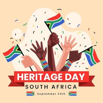 Flat heritage day zuid-afrika