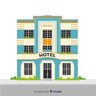 Flat hotelgebouw