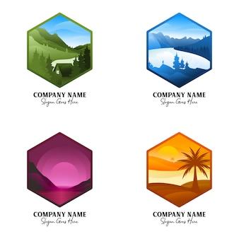 Flat outdoor-logo
