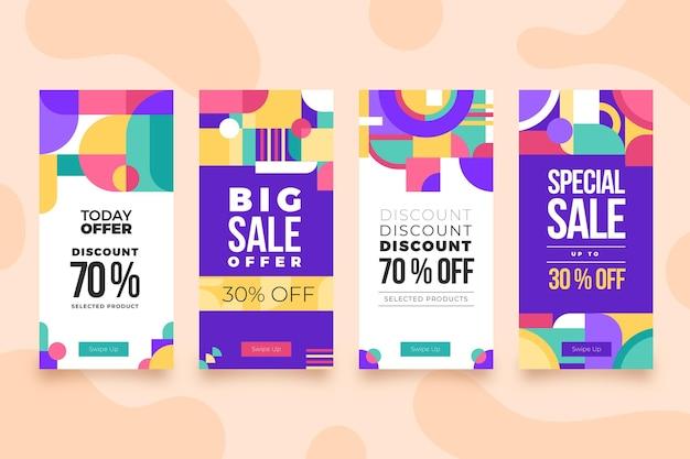 Flat sale instagram verhaalpakket