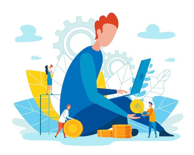 Flat team werkt efficiënt en zonder stress.