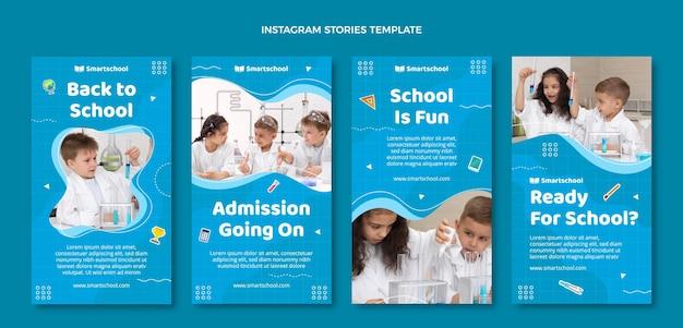 Flat terug naar school instagram verhalencollectie