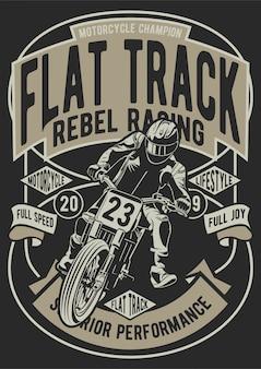 Flat track motorfiets