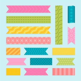 Flat washi tape-collectie