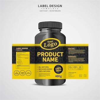 Fles etiket