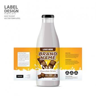 Fles label