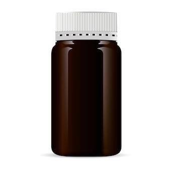 Fles voor medische producten, pil, medicijn, zalf