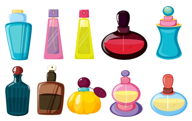 Flessen parfum