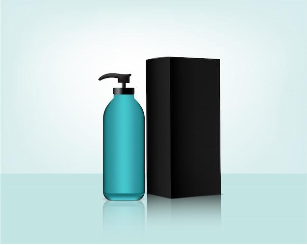 Flessenpompmodel en verpakking