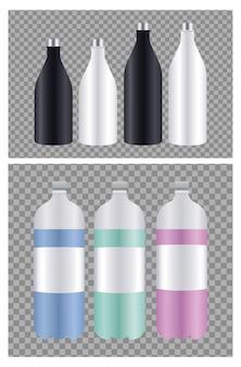 Flessenverpakkingsset