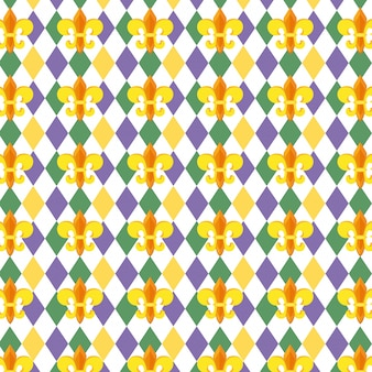 Fleur de lis patroonachtergrond