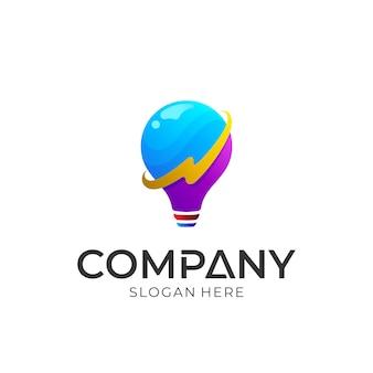 Flitslicht logo ontwerp