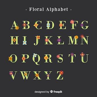 Floral alfabet