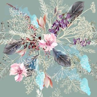 Floral backgorund design