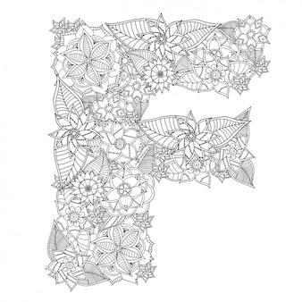 Floral brief ontwerp