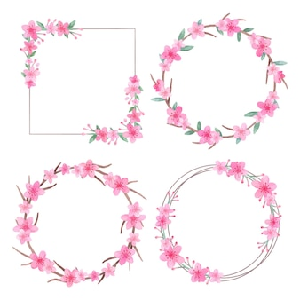 Floral frames-collectie