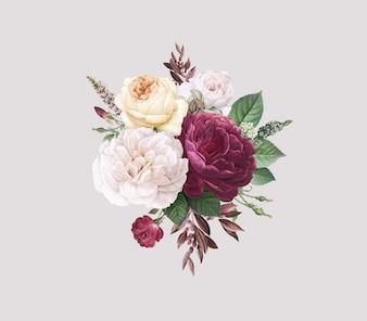 Floral kaart