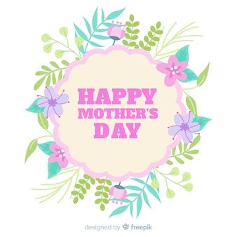Floral moederdag achtergrond