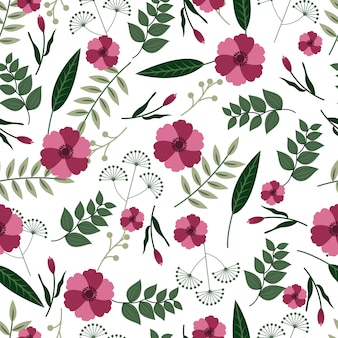 Floral naadloze patroon