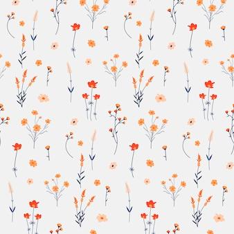 Floral patroon achtergrond