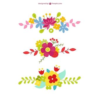 Floral vector graphics gratis