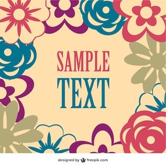 Floral vector gratis afbeelding