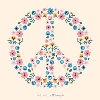 Floral vredesteken