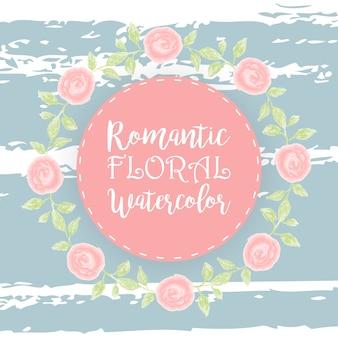 Florale achtergrond, vintage achtergrond